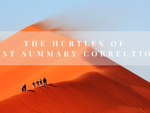 When and How to use Post Summary Corrections