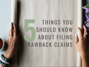 Duty Drawback Claims: 5 Things You Should Know