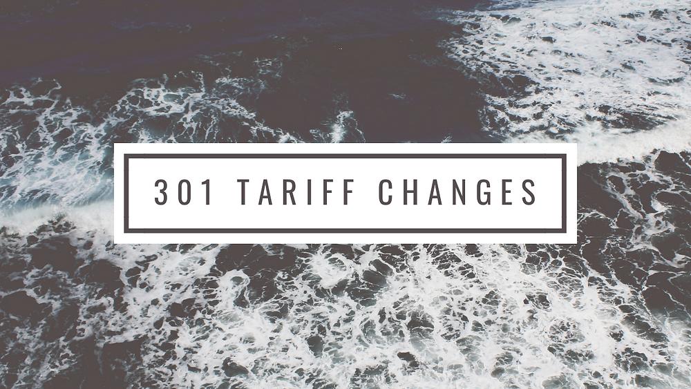 Section 301 Tariffs