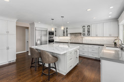 Beautiful Kitchen in New Luxury Home wit