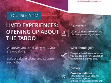Event | Lived Experiences, Panel Discussion