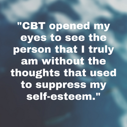 Alison's journey through Cognitive Behavioral Therapy