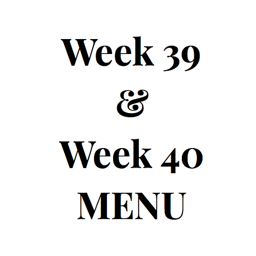week 39 and 40