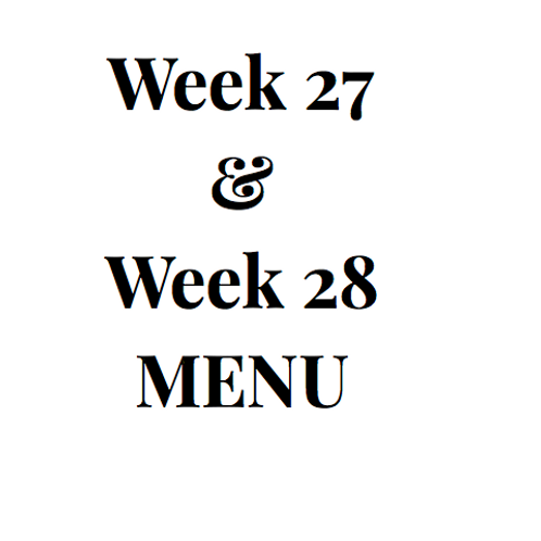 Week 27 and 28