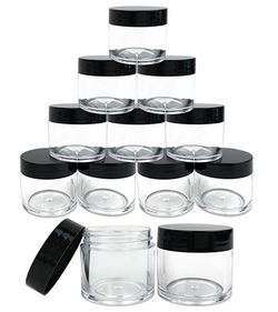 12 piece 1 oz glass salve