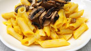 Vegan Mac and Cheese with Truffle Mushrooms