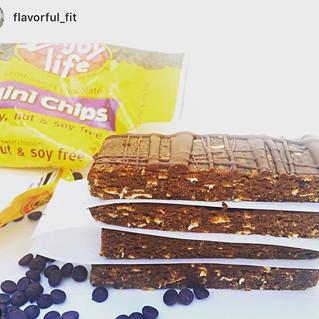 No Bake Chocolate Chip Cookie Dough Bars