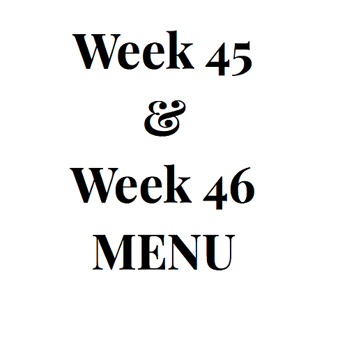 Week 45 and 46