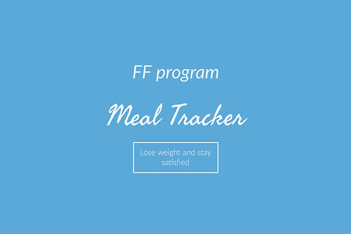 FF Meal Tracker