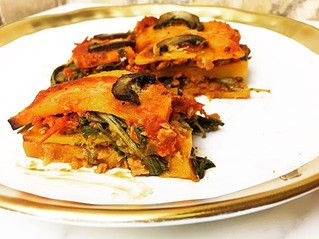 VeganButternut Squash Lasagna
