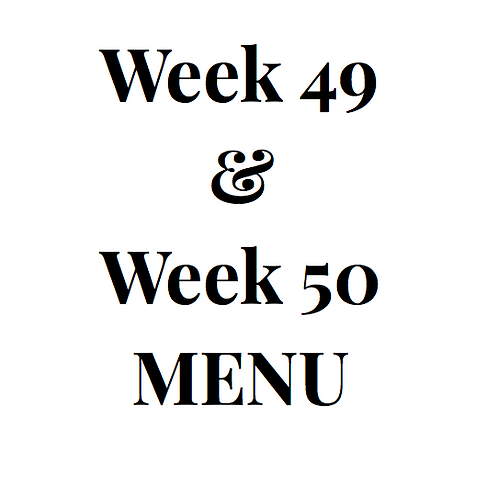 Week 49 and 50