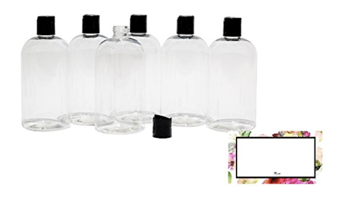 8 o cream bottles 6 piece with stick