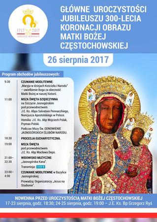 I 300 anni dell'incoronazione di Jasna Góra