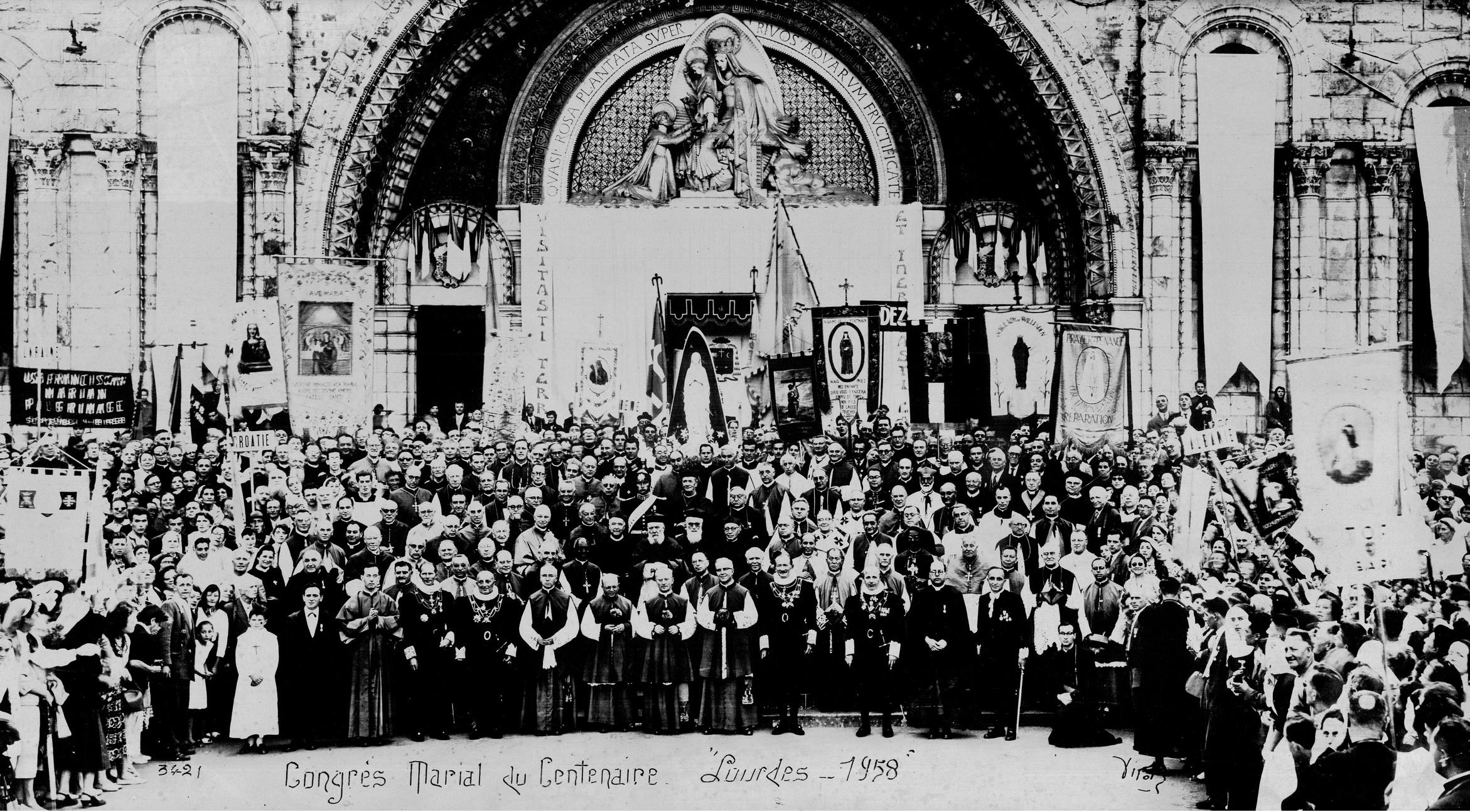 Congres Marial Lourdes 1958