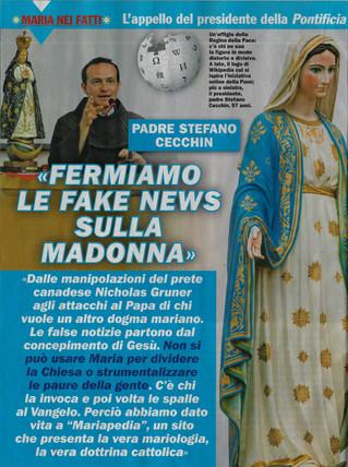 Articolo su Maria con Te