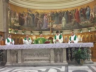 S. Messa con gli ambasciatori