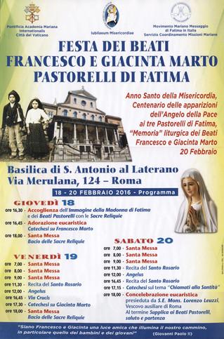 Festa dei Pastorelli di Fatima