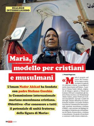 Dialogo interreligioso nel nome di Maria