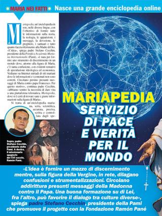 Articolo su Mariapedia