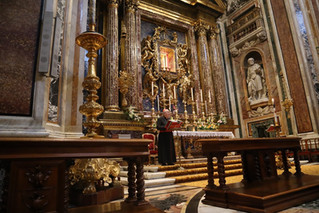 Il Card. Rylko presiede la Scuola di Maria a S. Maria Maggiore