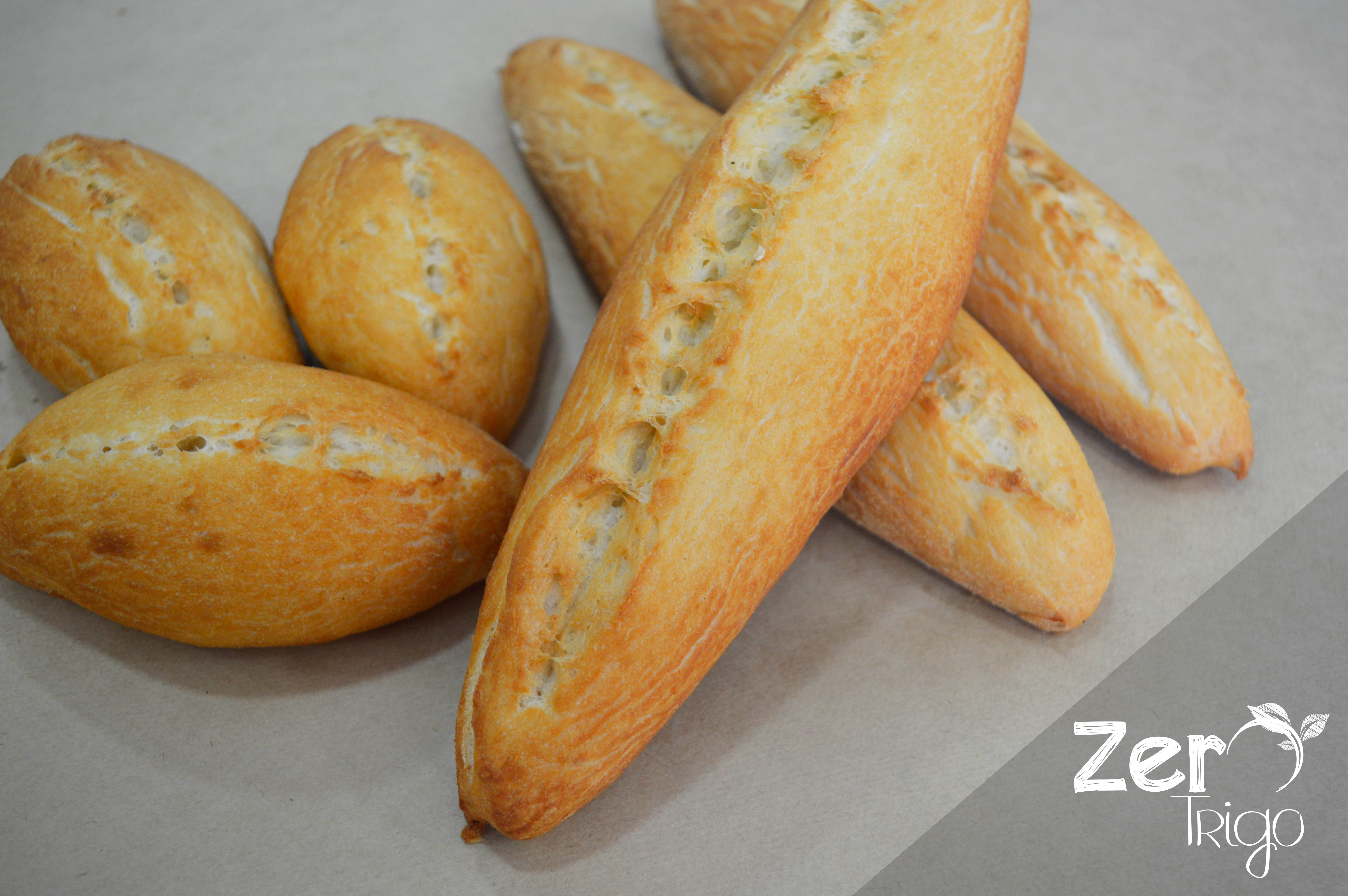 Baguetes Sem Glúten Sem Lactose
