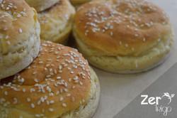Pão de Hamburguer Sem Glúten