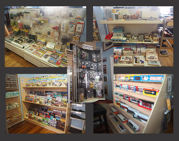Used model train products