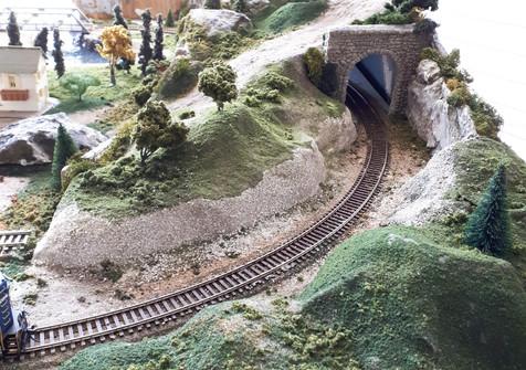 Store Model Train Layout