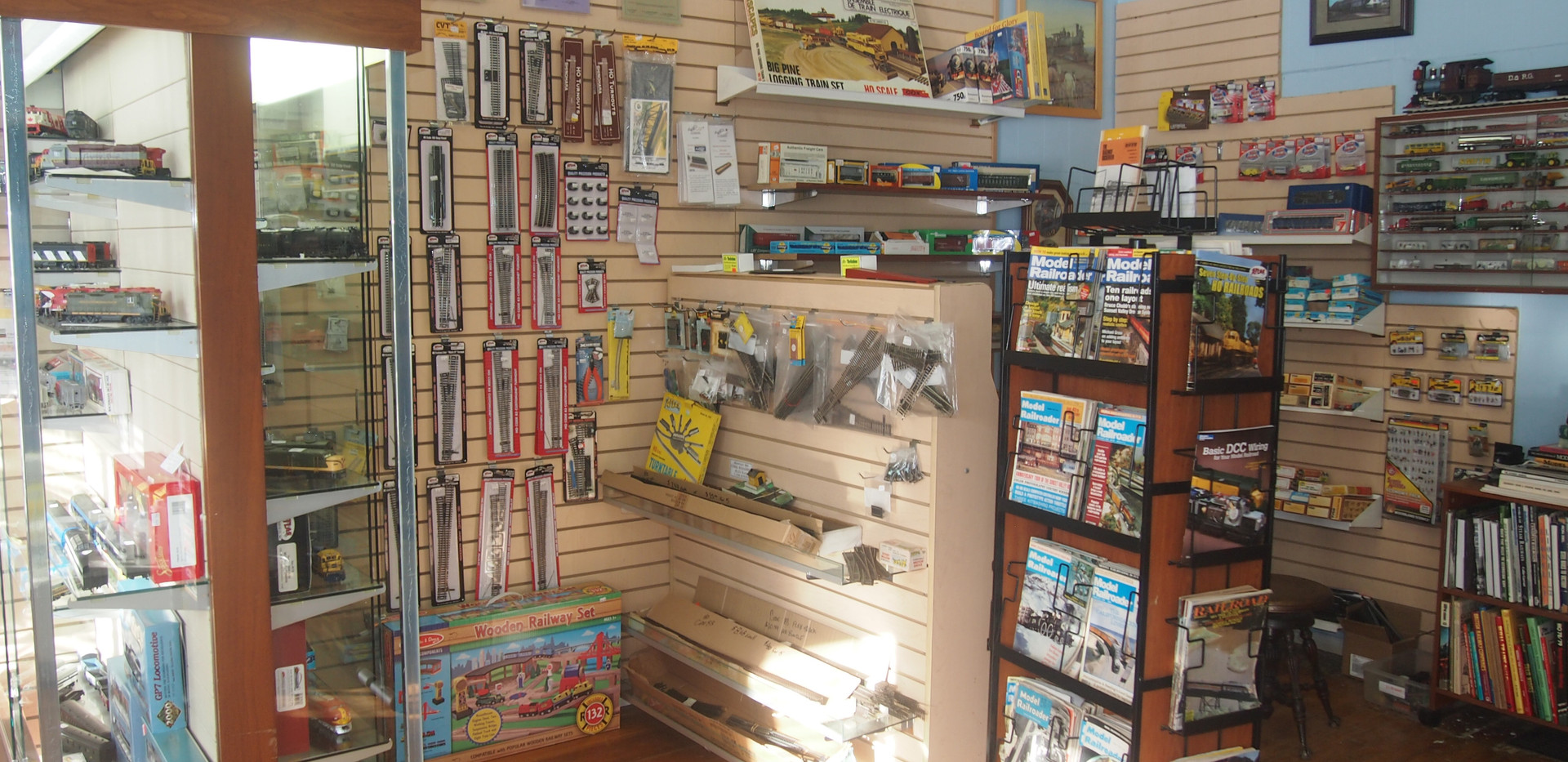 Back Corner of Our Store