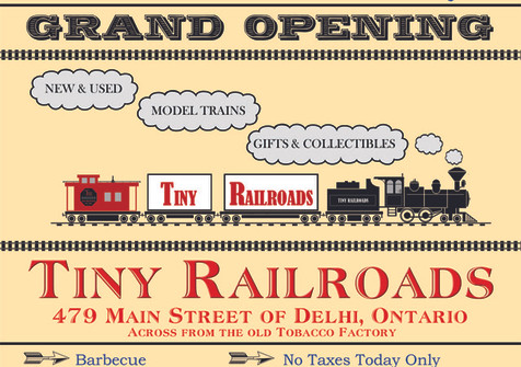 Grand Opening Day Flyer
