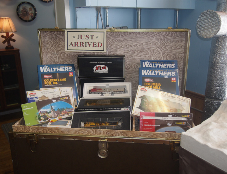 Recently Added Model Train Products (2016)