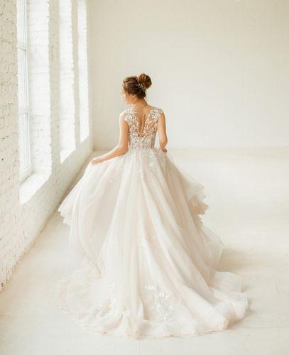 Donna's Bridal wedding dress