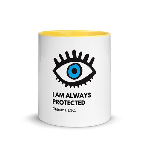 Evil Eye Mug with Color Inside