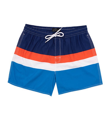 Jade Marlin Striped Swim Shorts