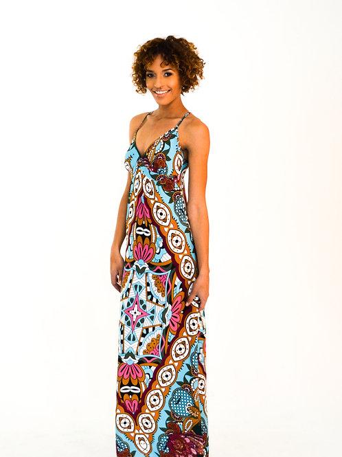 Jade Marlin Summer Print Dress