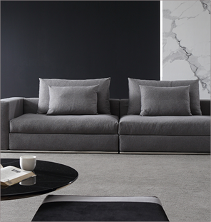 Flat Grey Couch