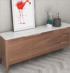 Long Wooden Dresser