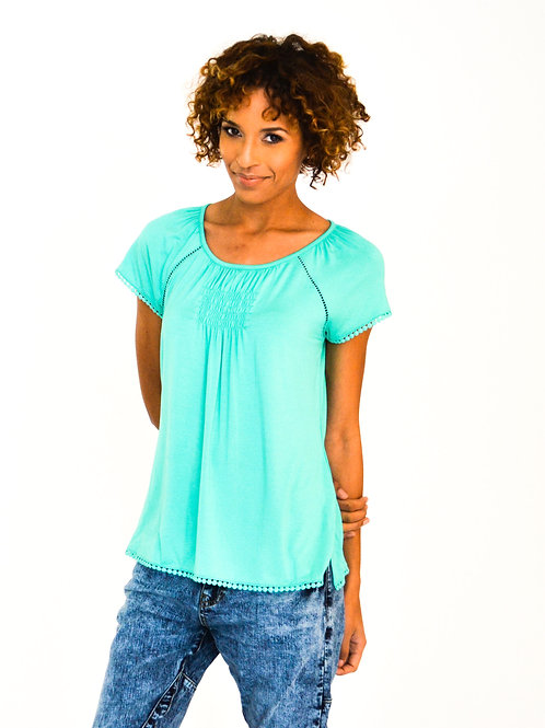 Jade Marlin Collection Blue Top