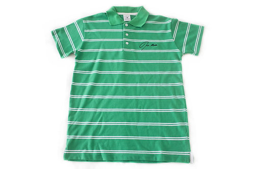 Jade Marlin Stripe Polo Shirt