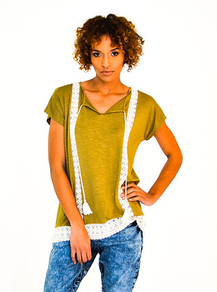 Jade Marlin Collection Green Top