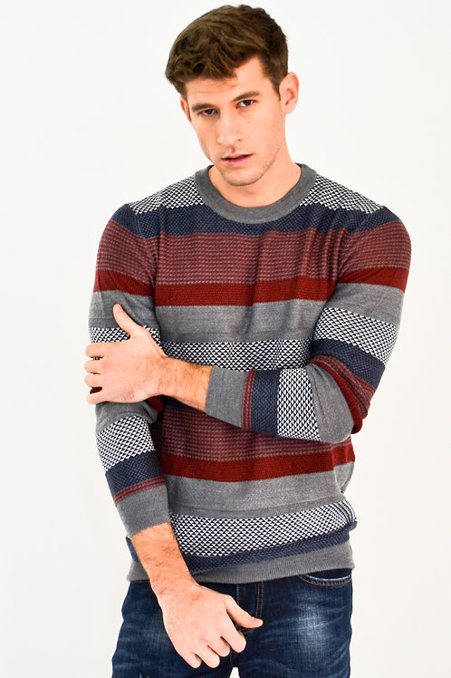 Jade Marlin Classic Stripe Sweater