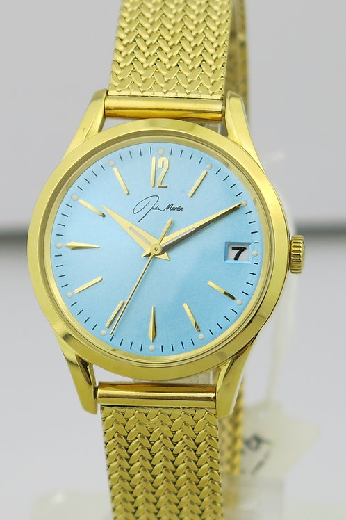 Jade Marlin Gold and Blue Watch