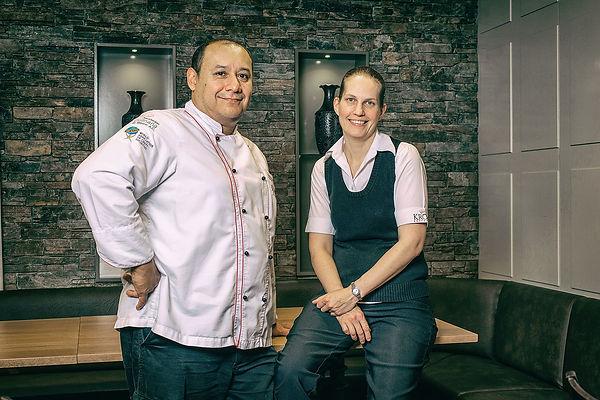 Octavio und Doris Mejia-Wick