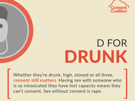 Know the facts about alcohol and sexual consent