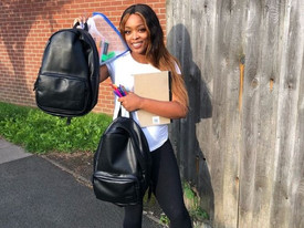 Birmingham: Mother of 3 supports underprivileged children to get school supplies