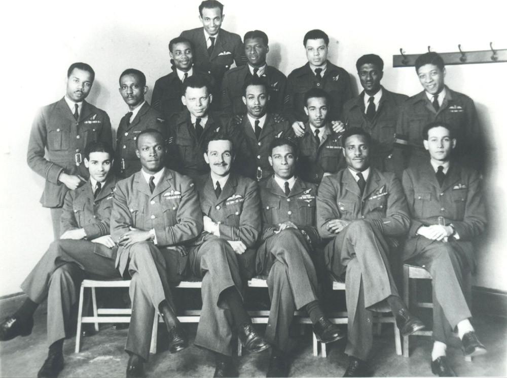 The Caribbean Air Crew WW2
