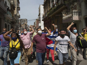 """Cuba Protests Could Put Pressure On Gov't But """"Caution Is In Order"""""""