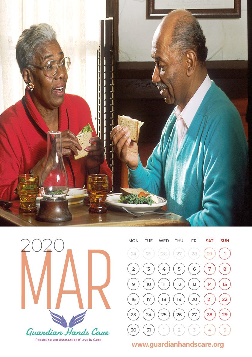 black business calendar 2020 sample4