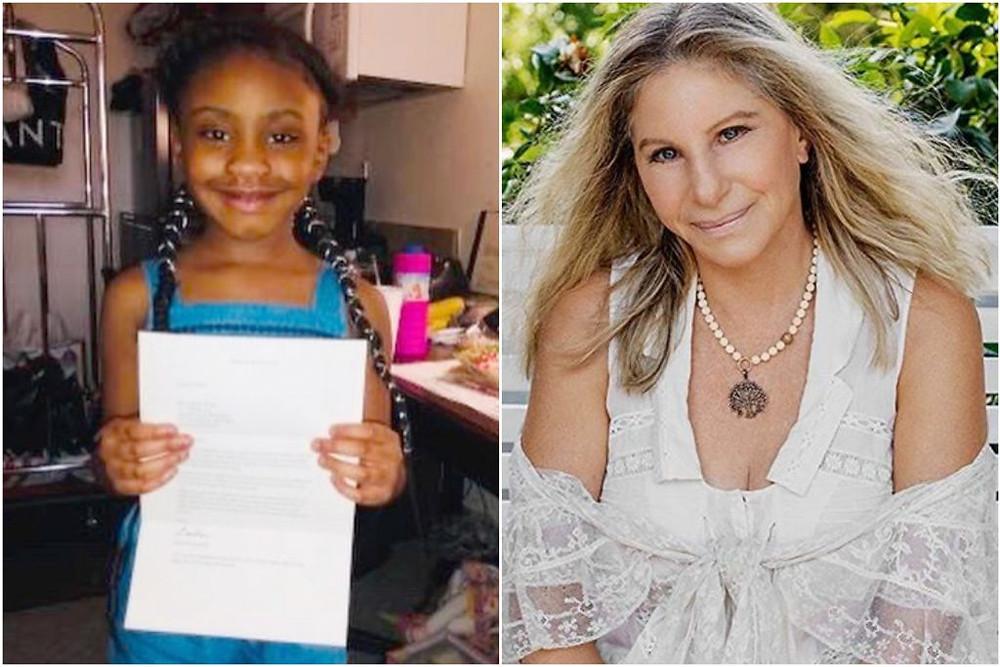 Gianna Floyd and Barbra Streisand