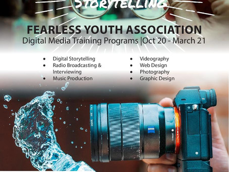 The Fearless Youth Association - digital training program for young people in Nottingham